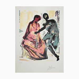 Salvador Dalí - Anthony and Cleopatra - Original Lithograph - 1979