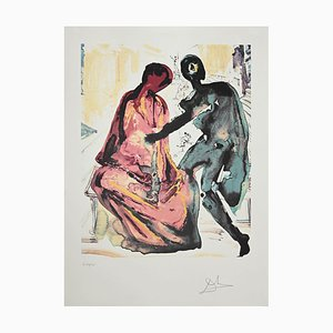 Salvador Dalí - Anthony and Cleopatra - Original Lithographie - 1979