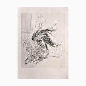 Dado (miodrag Djuric) - Composition - Original Radierung - 1980er