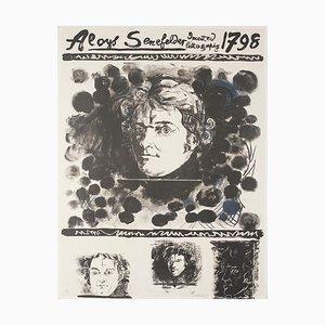 Graham Sutherland - Portrait - Original Lithograph - 1972