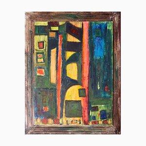 Antonio Massafra - Geo - Original Oil Painting - 2020