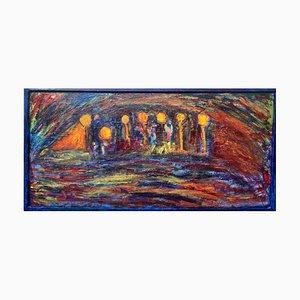 Antonio Massafra - Thoughts - Original Oil Painting - 2020