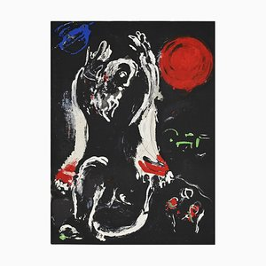 Marc Chagall - Isaiah - Original Lithographie - 1956