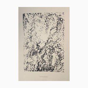 Jean Dubuffet - Stones Nests - Original Lithograph - 1959