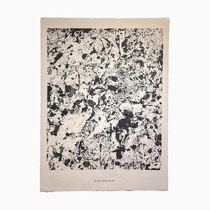 Lithographie Jean Dubuffet - Life Burning Soil - Original 1959