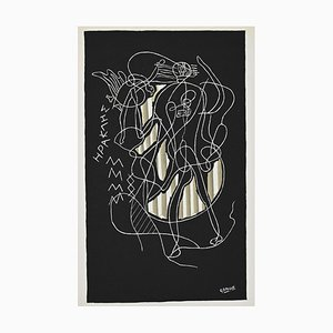 (after) Georges Braque - Herakles - Original Lithograph - 1951