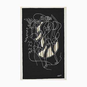 (nachher) Georges Braque - Herakles - Original Lithografie - 1951