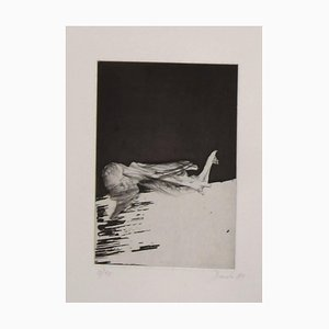 Dado (Miodrag Djuric) - Composition - Original Etching - 1980s