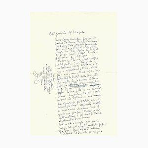 Fabrizio Clerici - Eine Reise nach Österreich - Autogrammstunde Signiert - 1952