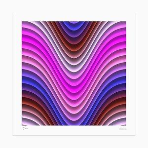 Dadodu - Pink Wind - Original Giclée Print - 2011