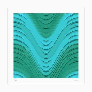 Dadodu - Blue Wind - Original Giclée Print - 2011