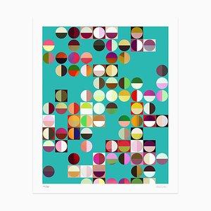 Dadodu - Colored Composition - Original Giclée Print - 2010