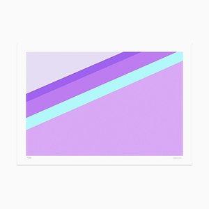 Dadodu - Purple Slide - Original Giclée Print - 2018