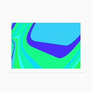 Dadodu - Green Drip - Original Giclée - 2018