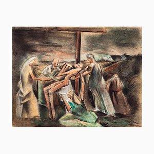 Unknown - Deposition of Christ - Original Mischtechnik auf Papier - 20. Jahrhundert