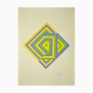 Unknown - Composition - Original Lithografie - Spätes 20. Jahrhundert