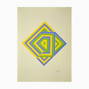 Unknown - Composition - Original Lithograph - Late 20th Century