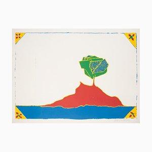 Maurilio Catalano - Island - Serigrafía original - años 70