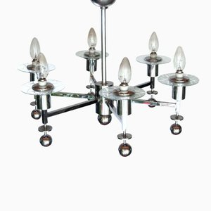 Lámpara de araña Bauhaus de Emil Fahrenkamp, 1928