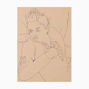 Jean Cocteau - Young Boy - Fotolitografia originale - anni '30