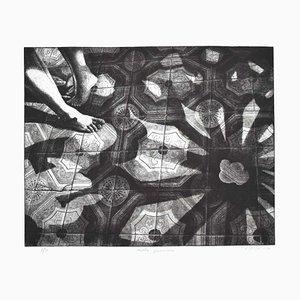 Piero Cesaroni - Penumbra - Original Etching - 1994