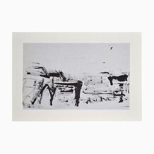 Unknown - Composition - Original China Tusche auf Papier - 20. Jahrhundert