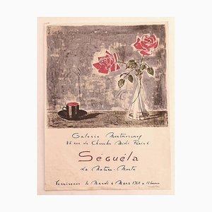 Unknown - Séguéla - Ausstellungsplakat - Original Offsetdruck - 1962