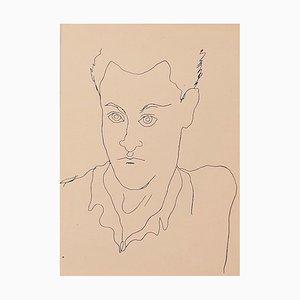 Jean Cocteau - Young Boy - Vintage Photolithograph - 1930s