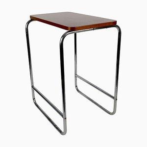 Bauhaus Table with Bakelite Tabletop, 1930s, Czech Republic