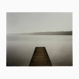 Fotografía Barton Broad, Norfolk - Neutral Waterscape Monochrome 2003