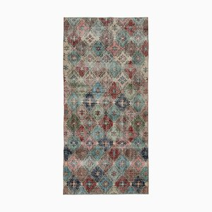 Mehrfarbiger Vintage Boho Teppich