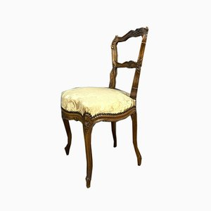 Walnut Dining Chairs, 1850s, Set of 2