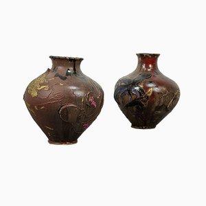 Vasen von Marco Silombria, 1970er, 2er Set