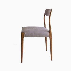 Dänische Esszimmerstühle aus Holz, 1960er, 6er Set