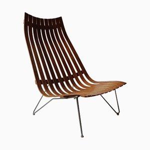Palisander Sessel von Hans Brattrud für Hove Møbler, 1950er