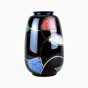 Vase von Glasveredelung Karl Grossmann KG, 1960er