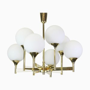 Large Chandelier from Kaiser Idell / Kaiser Leuchten, Germany, 1970s