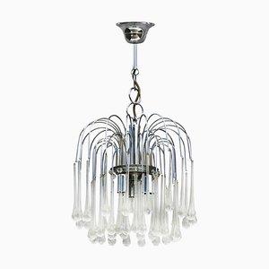 Lámpara de araña de Paolo Venini, años 60