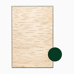 Kleine Edge Birkenholz Wandtafel von Moya