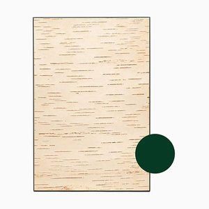 Small Edge Green Birch Wall Panel from Moya