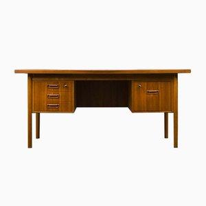 Dänischer Teak Schreibtisch von Gunnar Nielsen für Tibergaard, 1960er