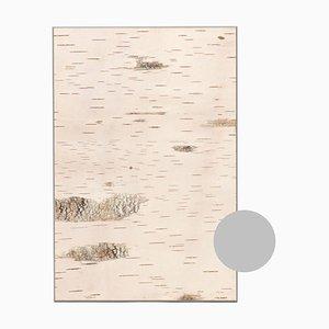 Small Edge Light Grey Birch Wall Panel from Moya