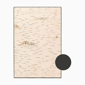 Small Edge Dark Grey Birch Wall Panel from Moya
