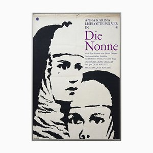 Vintage the Nuns Filmplakat, VEB Progress, 1969