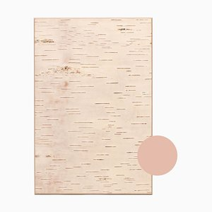 Small Edge Beige Birch Wall Panel from Moya