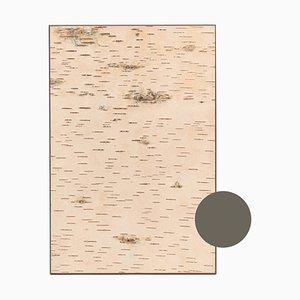 Small Edge Truffle Brown Birch Wall Panel from Moya