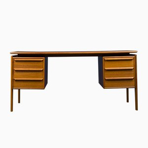 Danish Teak Desk from Gasvig GV Møbler, 1960s