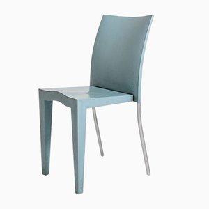 Hellblaue Vintage Esszimmerstühle von Philippe Starck für Kartell, 8er Set