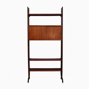Dutch Teak Wall Unit from SimplaLux, 1960s