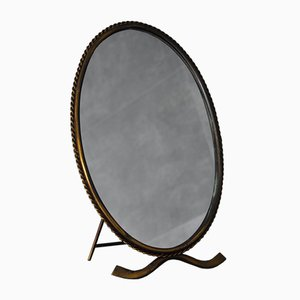 Mirror with Brass Frame, 1960s